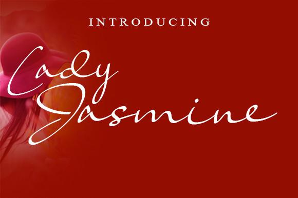 Lady Jasmine Font