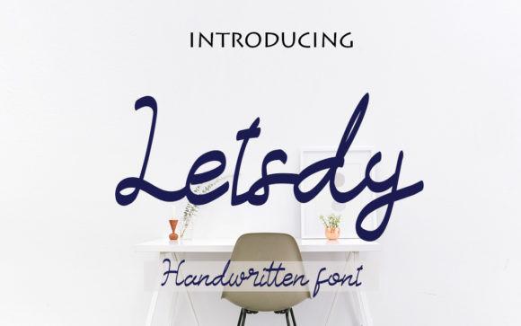 Letsdy Font
