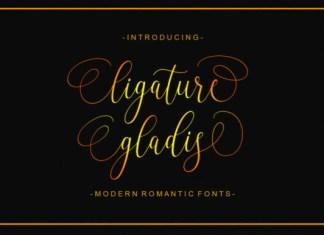 Ligature Gladis Font