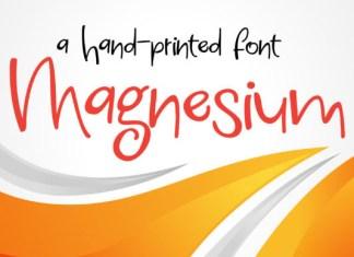 Magnesium Font