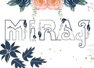 Miraj Font