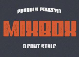 MixBox Family Font