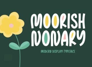 Moorish Nonary Font