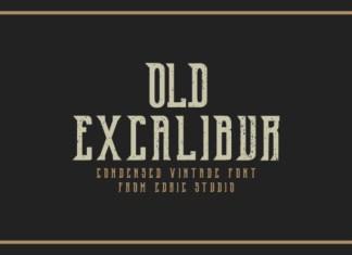 Old Excalibur Font