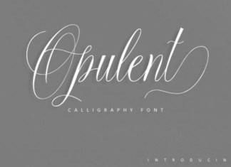 Opulent Script
