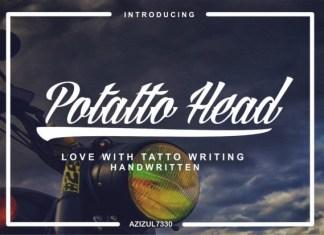 Potatto Head Font