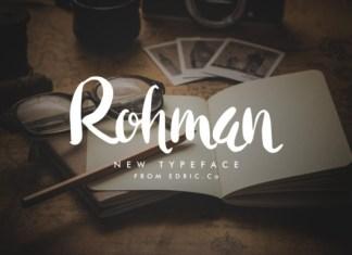 Rohman Font
