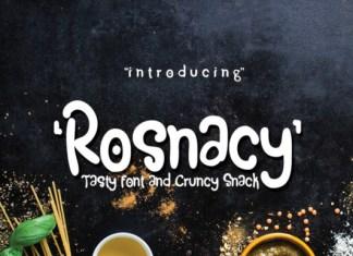 Rosnacy Font