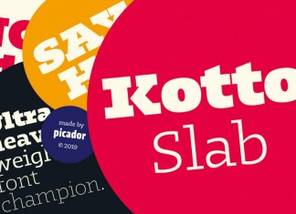 Kotto Slab Font Family