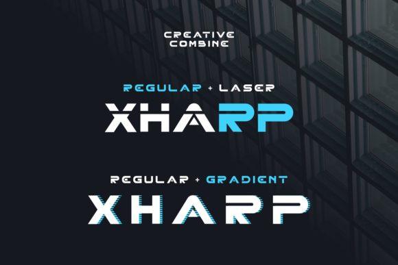 Xharp Font