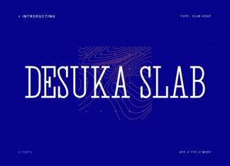 Desuka Slab Font