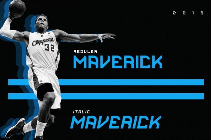 Maverick Clean Display Font
