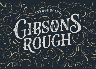 Gibsons Co Font