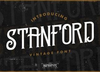 Stanford - Vintage Font
