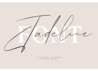 Jadeline Script - Free Serif Font