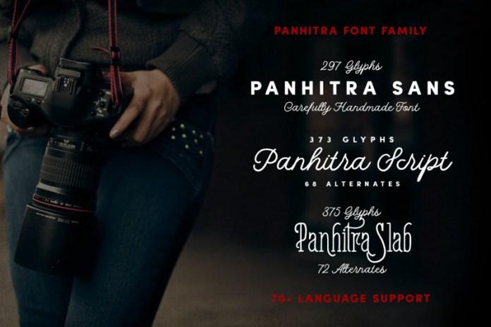 Panhitra Font Family
