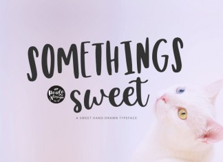 Somethings sweet Font