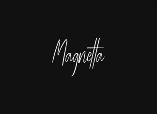 Magnetta - Handwritten Luxury Font