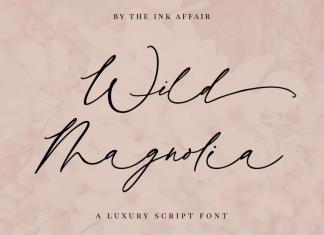 Wild Magnolia Luxury Script