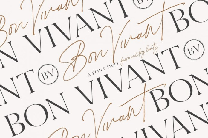 Bon Vivant Collection Font