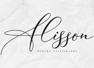 Alisson Script Font