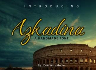 Azkadina Font