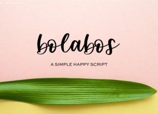 Bolabos Font