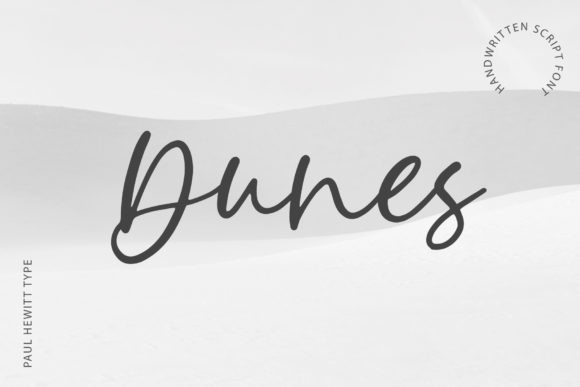 Dunes Font