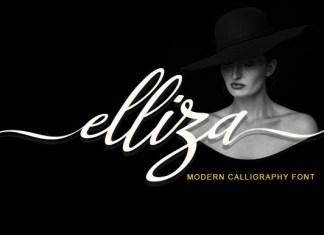 Elliza Script Font