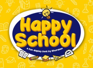 Happy School Font