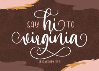 Hi Virginia Font