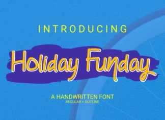 Holiday Funday Font