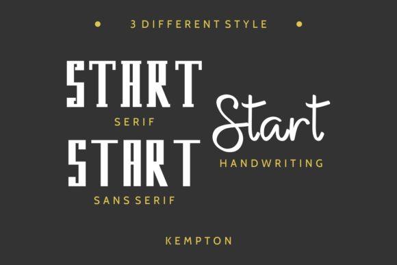 Kempton Duo Font