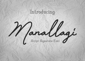 Manallagi Font