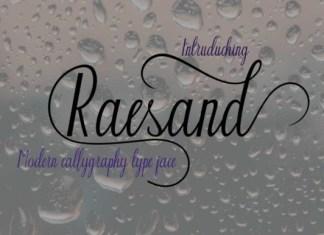 Raesand Font