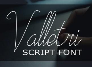 Valletri Font