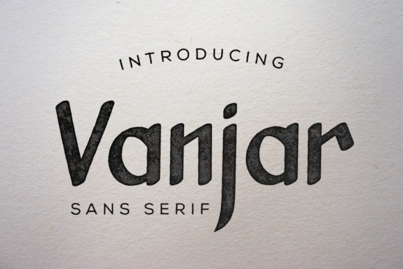 Vanjar Font