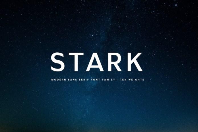 Stark - A Modern Sans Serif