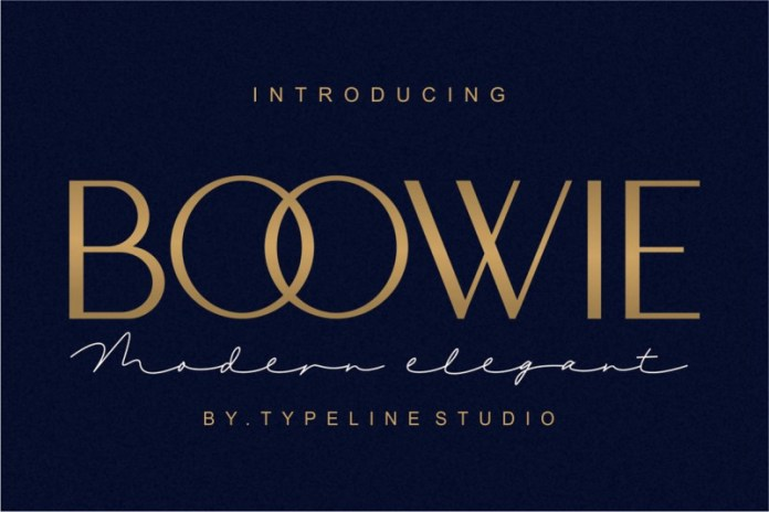 Boowie    Modern minimalist elegant.