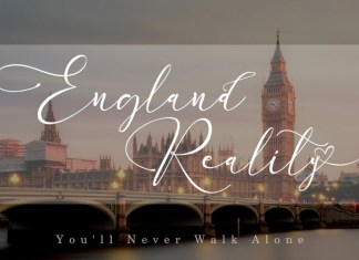 England Reality Font