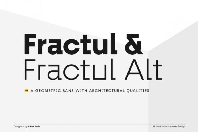 Fractul Font Family
