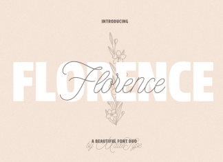 MADE Florence | a Beautiful Font