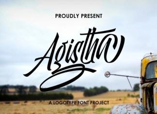 Agistha Logotype Font
