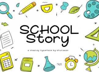 School Story Font