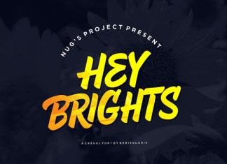 Hey Brights Font