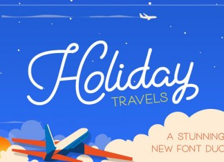 Holiday Travel Font