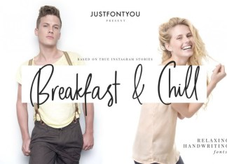 Breakfast and Chill Font
