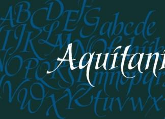 Aquitania Script Font
