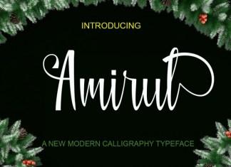 Amirul Script Font