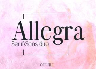 Allegra Duo Font